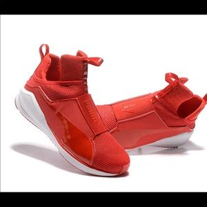069d24e29f112d Puma Shoes - New Kylie forever fierce RED puma sneakers